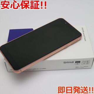 アクオス(AQUOS)の新品 SHV48 AQUOS sense3 basic ライトカッパー (スマートフォン本体)