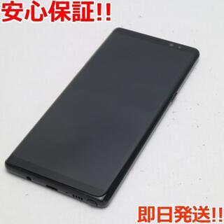 サムスン(SAMSUNG)の新品同様 SC-01K ブラック 本体 白ロム (スマートフォン本体)