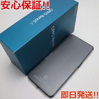 オッポ(OPPO)の新品 SIMフリー OPPO Reno3 A ブラック (スマートフォン本体)