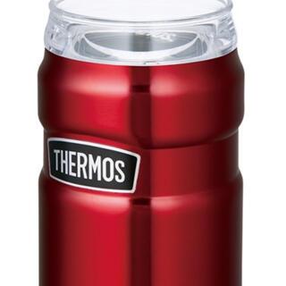 サーモス(THERMOS)の大幅値下げ‼️保冷缶ホルダー 2個セットROD-002 クランベリー(CRB)(タンブラー)