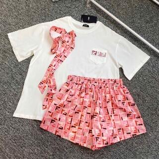 FENDI - FENDI tシャツとショットパンツセットアップ