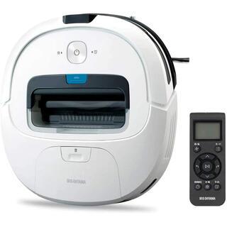 アイリスオーヤマ - アイリスオーヤマ ロボット掃除機 水拭き  リモコン付き IC-R01-W