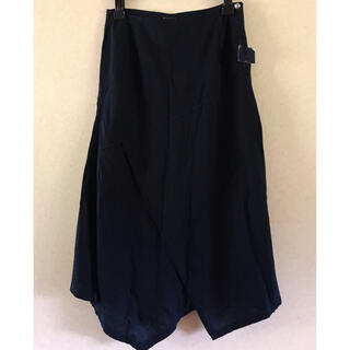 フォーティファイブアール(45R)の45r 45rpm インディゴ スカート(ひざ丈スカート)