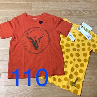 UNIQLO - ユニクロ&GAP Tシャツ 2枚セット 110センチ