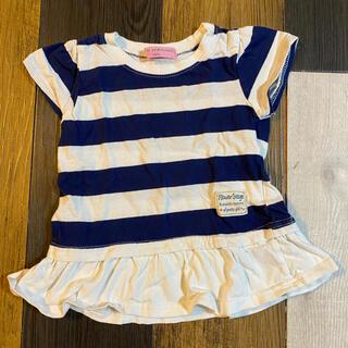 ニシマツヤ(西松屋)のフリルTシャツ(Tシャツ/カットソー)