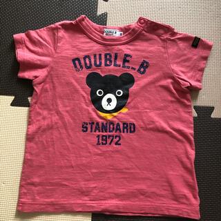 DOUBLE.B - 美品 ミキハウス ダブルビー Tシャツ 90