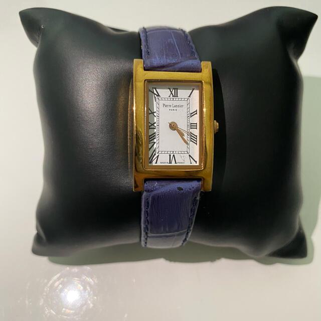 Pierre Lannier(ピエールラニエ)のPierre Lannier 腕時計 レディース 紺色 ピエールラニエ ネイビー レディースのファッション小物(腕時計)の商品写真