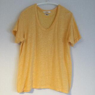 ジャーナルスタンダード(JOURNAL STANDARD)のJORNAL STANDARD リネン Tシャツ フリーサイズ 新品同様(Tシャツ(半袖/袖なし))