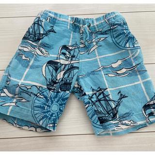 UNITED ARROWS - ユナイテッドアローズ グリーンキッズ リネン混半ズボン ハーフパンツ90.95
