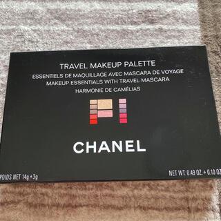 シャネル(CHANEL)のシャネル トラベル メークアップ パレット アーモニー ドゥ カメリア 17g(コフレ/メイクアップセット)