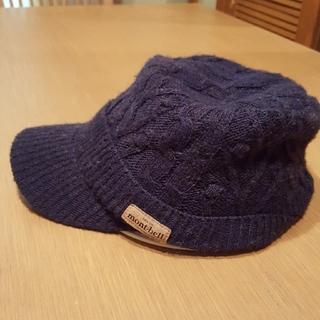 モンベル(mont bell)のモンベル ニット帽 青 紺色(ニット帽/ビーニー)