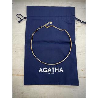 アガタ(AGATHA)のAGATHA アガタ ゴールドカラー ネックレス(ネックレス)