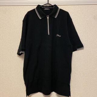 タイトリスト(Titleist)のTitleist タイトリスト ポロシャツ ブラック XL(ウエア)