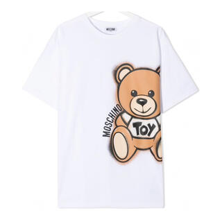 モスキーノ(MOSCHINO)の【新作】モスキーノ ビッグベアTシャツ ホワイト 14(Tシャツ(半袖/袖なし))
