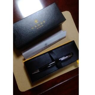 クロス(CROSS)のCROSS ボールペン 黒 新品未使用(ペン/マーカー)