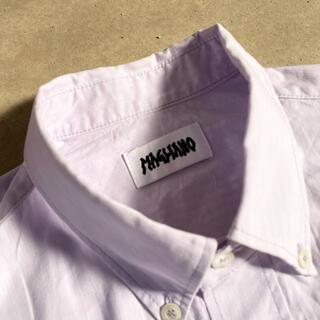 ジョンローレンスサリバン(JOHN LAWRENCE SULLIVAN)の【magliano】半袖 シャツ 再構築 クレイジー アシンメトリー 19ss(シャツ)