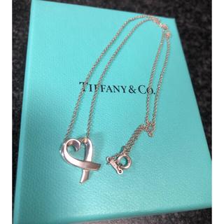 Tiffany & Co. - 【美品】ティファニー ラビングハートネックレス リング