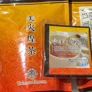 美爽煌茶 1パック(33包)+サンプル3包 計36(健康茶)