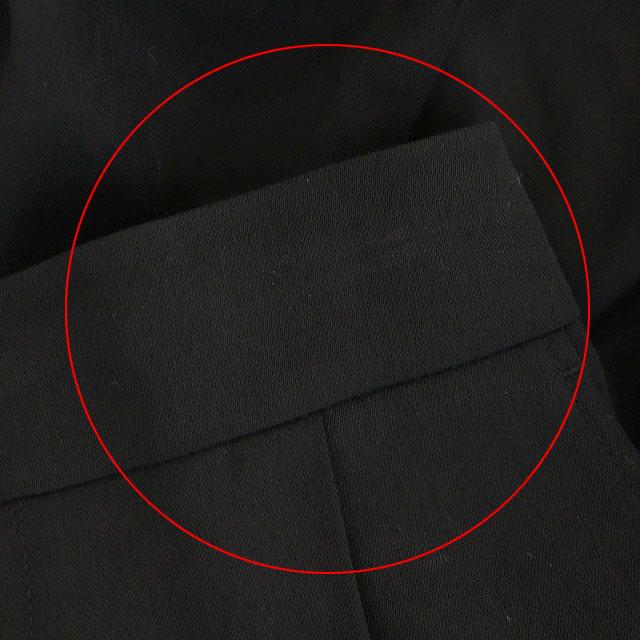 Vince(ビンス)のヴィンス VINCE テーパードパンツ タック XS 黒 ブラック レディースのパンツ(その他)の商品写真