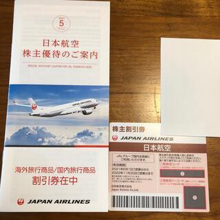 JAL 日本航空 株主優待券1枚(航空券)