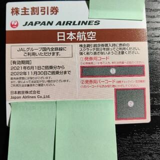 ジャル(ニホンコウクウ)(JAL(日本航空))の日本航空JAL 株主優待 割引券(航空券)