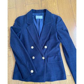 エニィスィス(anySiS)のテーラードジャケット 紺(テーラードジャケット)