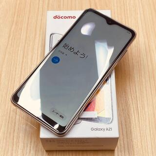 Galaxy - 新品 Galaxy A21 SC-42A SIMフリー