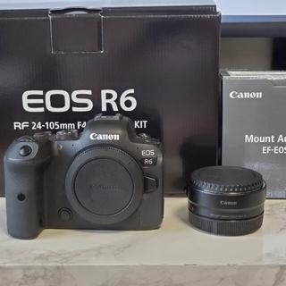 CANON EOS R6 ボディ マウントアダプターセット