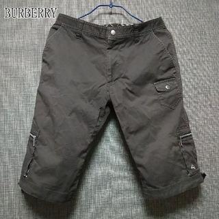 BURBERRY - 【BURBERRY】バーバリー ブラックレーベルハーフパンツ (税込・送料無料)