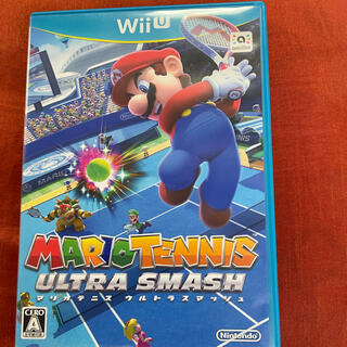 Wii U - マリオテニス ウルトラスマッシュ Wii U wiiu ソフト カセット