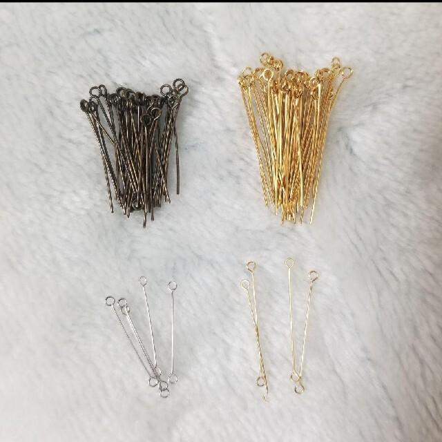 貴和製作所(キワセイサクジョ)の9ピン 80本 オマケつき ハンドメイドの素材/材料(各種パーツ)の商品写真