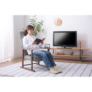 天然木(ラッカー塗装) ミッドセンチュリーのデザイナーズ ハイバック 座椅子 G(ハイバックチェア)