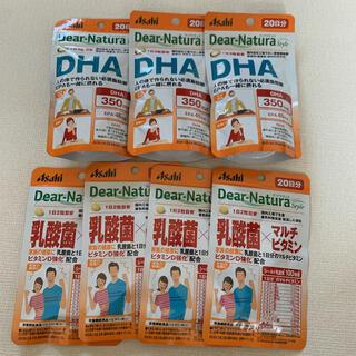 アサヒ - ディアナチュラ  DHA 60日分   乳酸菌×マルチビタミン  80日分