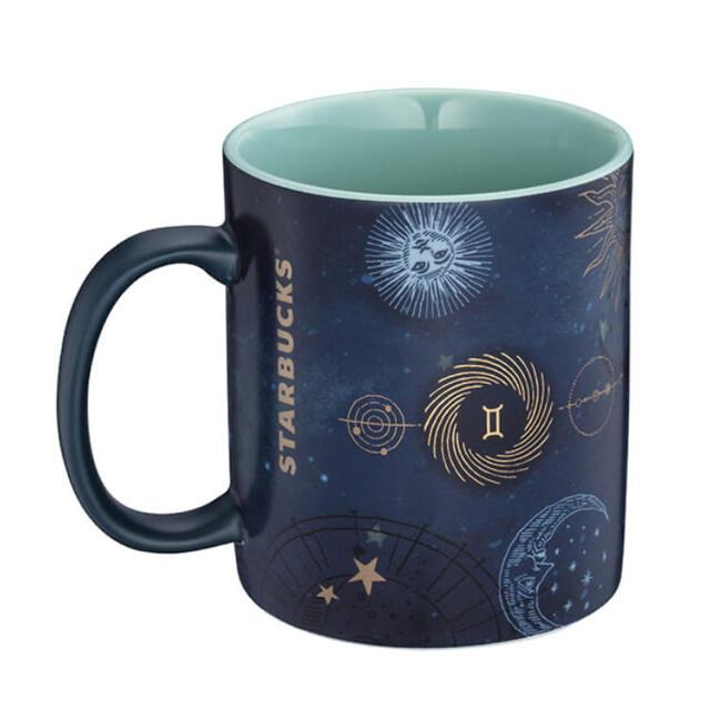 Starbucks Coffee(スターバックスコーヒー)の台湾 スターバックス ふたご座 マグカップ 星座 2021 ジェミニGemini インテリア/住まい/日用品のキッチン/食器(グラス/カップ)の商品写真