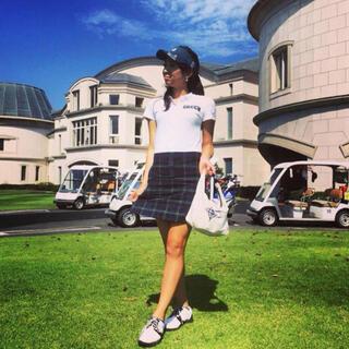 BEAMS - ビームスゴルフ ワンピース beams golf  ポロシャツ スカート
