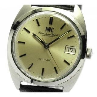 インターナショナルウォッチカンパニー(IWC)のIWC アンティーク デイト cal.8541B  自動巻き メンズ 【中古】(腕時計(アナログ))