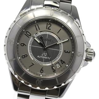 シャネル(CHANEL)の☆良品 シャネル J12 H2979 メンズ 【中古】(腕時計(アナログ))
