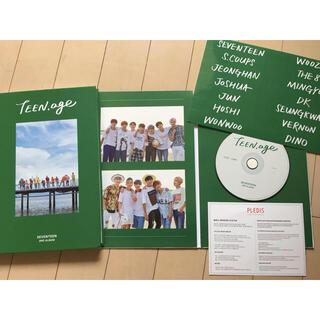 SEVENTEEN - 廃盤 TEEN,age GREEN CD+フォトブック seventeenセブチ
