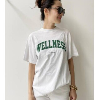 L'Appartement DEUXIEME CLASSE - 【SPORTY&RICH/スポーティアンドリッチ】LOGO TEE ロゴT