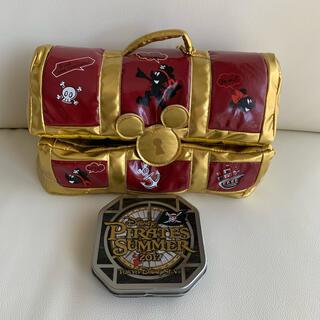 Disney - パイレーツサマー ミッキーとミニー 宝箱 デザイン缶 ディズニーリゾート限定