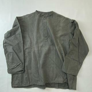 サカイ(sacai)のロシア軍 スリーピングシャツdead2wash セージ サイズ52-55 M47(シャツ)