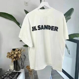 ジルサンダー(Jil Sander)の大人気中 JIL SANDER ジルサンダー オーバーサイズ ロゴ Tシャツ(Tシャツ/カットソー(半袖/袖なし))