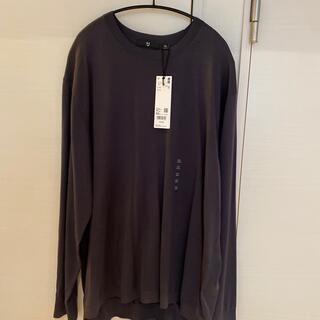 ユニクロ(UNIQLO)の【新品】XXL UNIQLO +J シルクコットンクルーネックセーター(長袖) (ニット/セーター)