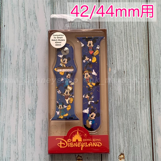 Disney - 香港ディズニー15周年 ミッキーマウス アップルウォッチバンド 42/44mm用