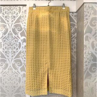 ロペ(ROPE)のMADEMOISELLE ROPÉ ナロースカート(ひざ丈スカート)