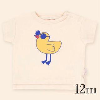 コドモビームス(こども ビームス)のTINYCOTTONS Tiny bird Tシャツ 12m(Tシャツ)