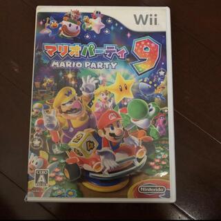 Wii - マリオパーティ9 傷多い