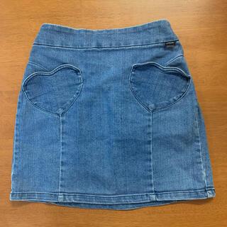 ジェニィ(JENNI)のJenni デニムスカート 160cm(スカート)