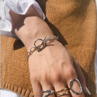 トゥデイフル(TODAYFUL)のSALE! silver 925 chain bracelet(ブレスレット/バングル)