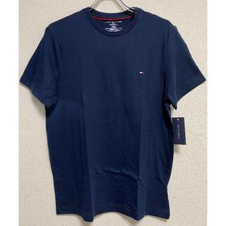 TOMMY HILFIGER - 新品 US-S ★ トミーヒルフィガー メンズ クルーネック 半袖 Tシャツ N